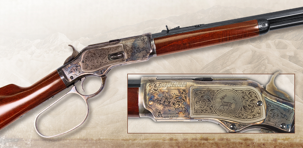 1873 Short Rifle Deluxe Limited edition lever-action for 2018