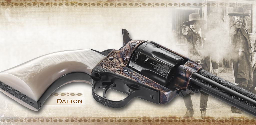 Uberti New Dalton model of Outlaws and Lawman series