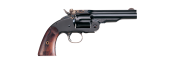 Uberti No. 3 2nd Model 5 Inch Revolver - Blued with Walnut Grip